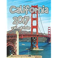 California 2017 Wall Calendar (UK Edition) - America Del Wall Calendar