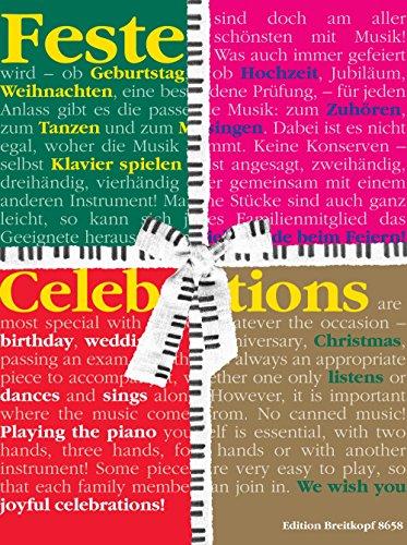 Preisvergleich Produktbild Feste - Klavierstücke für besondere Gelegenheiten / Celebrations - Piano Pieces for Special Occasions (EB 8658)