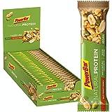 PowerBar Natural Protein Salty Peanut Crunch 24x40g - Barre Protéinée Végétalienne + Ingrédients naturels