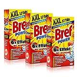 3x Henkel Bref Power 6x Effekt WC-KraftTabs 12 Tabs Toiletten Reiniger