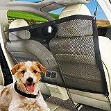 SUPEWOLD borsa Pet barriera a rete rete di sicurezza blocca Dogs accesso ai sedili anteriori auto della guardia, viaggio Pet net Keep cani in sedile posteriore