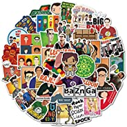 The Big_Bang Theory Stickers of 50 Vinyl Decal Merchandise Laptop Stickers for Laptops, Computers, Hydro Flask