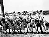 Artland Qualitätsbilder I Alu Dibond Bilder Alu Art 80 x 60 cm Film TV Film Foto Schwarz Weiß B9HP Badende Schönheiten 1916
