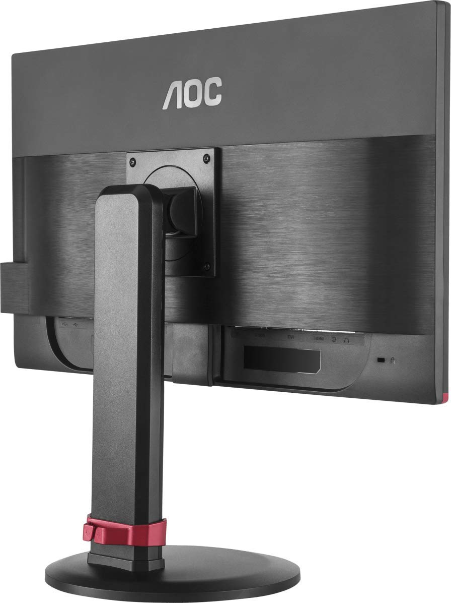 AOC-G2460PF-24-LED-Full-HD-1920x1080-Freesync-144Hz-1ms-Height-adjustable-Gaming-monitor-with-Built-in-speakers-VGA-DVI-HDMI-DisplayPort-USB-x-2-Black