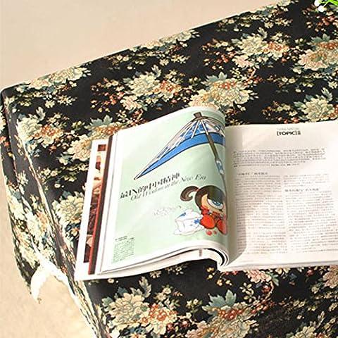 Stile Country folk-Panno da tavolo in cotone-Tovagliette all