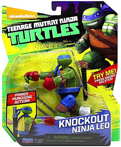 Teenage Mutant Ninja Turtles TUA71101 Knockout Ninja Leo Figure 12 ()