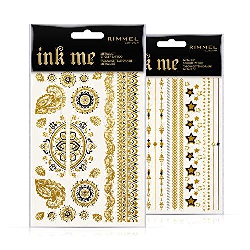 Rimmel London Ink Me Stickers Tatuaje temporal Tono 001-15 gr