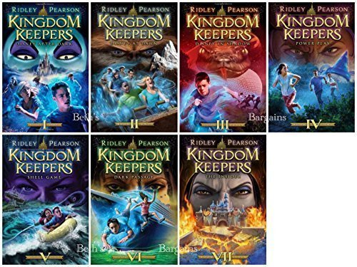 7 Books: Kingdom Keepers Collection - Disney After Dark, Disney at Dawn, Disney in Shadow, Power Play, Shell Game, Dark Passage, The Insider by Ridley Pearson (2014-11-09)