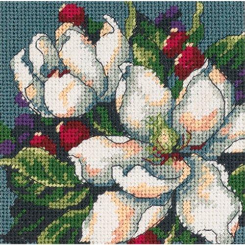 Dimensions Nadelkissenset, Magnolias (Kits Einfach Needlepoint)