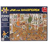 Jan van Haasteren - King's Inauguration Jigsaw Puzzle (2000 Pieces) by Jumbo Games