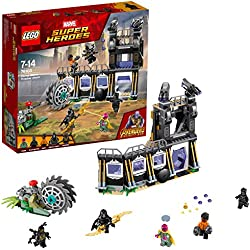 LEGO Marvel Super Heroes - L'attaque de Corvus Glaive - 76103 - Jeu de Construction