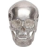 Forobb Skull Bead Charm Pendant for Necklace Bracelet 925 Sterling Silver Handcrafted Gothic Rock Punk Diablo Biker…