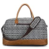 Best BLUBOON Bag For Men - BLUBOON Duffel Bag Canvas Travel Duffle Weekender Overnight Review