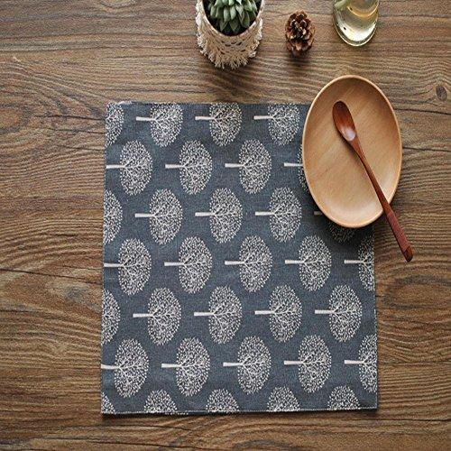 ZHUOXBU Moderne Style Pastoral Simple Plain Elegant Manteaux rectangulaires résistant aux Taches et Rembourrage, 30 * 40cm