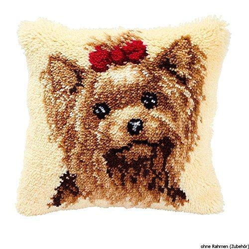 Vervaco PN-0014144 Knüpfkissen 3551 Hund