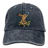 Best Caps KBETHOS Baseball - Funny Sloth Hat Riding Turtle Unisex Adjustable Baseball Review