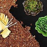 casa pura® Unkrautvlies | Gartenvlies mit hoher Stärke: 150g/m² | effiziente Unkrautsperre | feuchtigkeitsdurchlässig | viele Größen (2 m x 25 m)