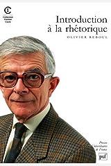 Introduction à la rhétorique Broché