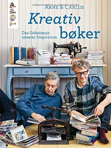 Arne & Carlos Kreativbøker: Das Geheimnis unserer Inspiration.