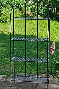 metallregal f r haus und garten garten. Black Bedroom Furniture Sets. Home Design Ideas