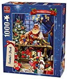 King 5360 - Puzzle Kerst Santa S Desk, Lot de 1000