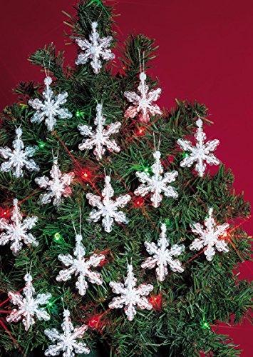 Vacanza in rilievo ornamento fiocchi di neve Mini-Kit 2