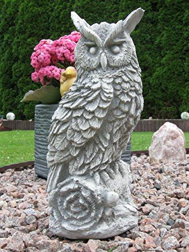 Chouette Hibou Oiseau en en pierre amusante, gel