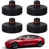 Ytesky 4 Pezzi Tampone in Gomma per Auto Tesla Modello 3,Tappetino in Gomma per Tappetini in Gomma per Auto/SUV…