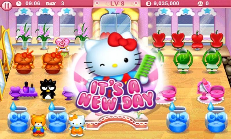 Hello Kitty Beauty Salon Amazon De Apps Fur Android