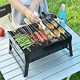 #6: DEZIINE Set of 10 Skewer Barbecue BBQ Stainless Steel Stick Needle Wooden Handle