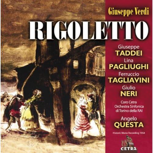 """Rigoletto : Act 3 """"La donna è mobile"""" [Duca, Sparafucile, Rigoletto]"""