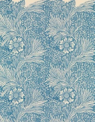 Marigold, William Morris. Blank journal: 160 blank pages, 8,5x11 inch (21.59 x 27.94 cm) Soft cover /
