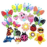 20 Schmetterling Libelle Marienkäfer Blumen schön Schuh Schmucken Schuhanhänger for croc shoes Schuh