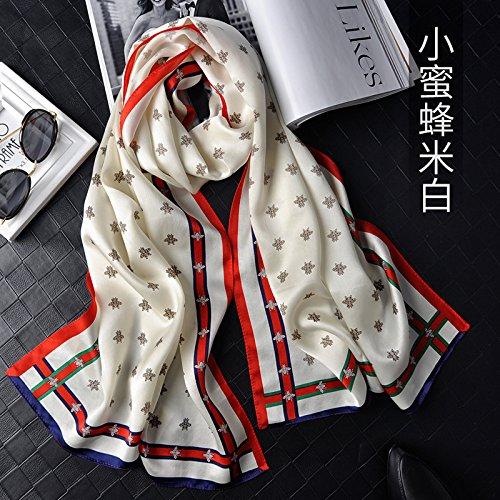 LLZHWSJ Silk/Écharpe/Femelle/Silk/Tout-Match/Long