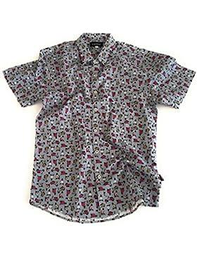Camisa Trankilo Vespas mini Gris.
