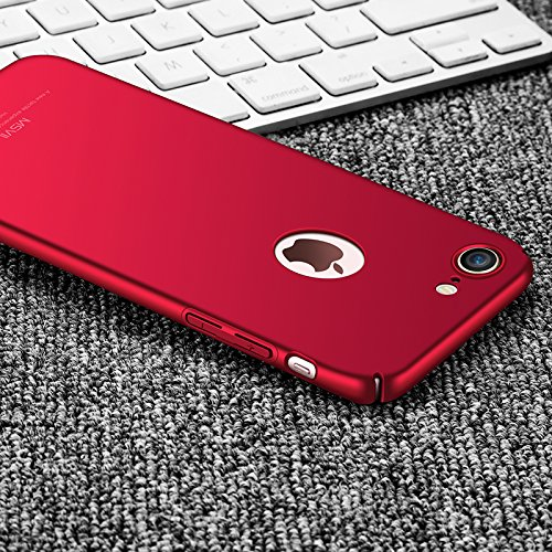 Yooky Apple Iphone 7 Plus Case Cover Custodia , Iphone 7 Plus Caso Cubierta , Scratch Resistant Slim Hard Protective Cover Shell for Iphone 7 Plus Red
