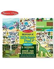 Melissa & Doug Reusable Sticker Pad-Habitats Multi Color