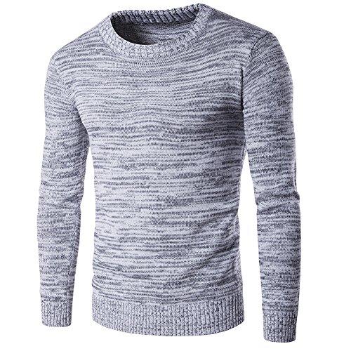 BOMOVO- Maglie- Maglioni -Girocollo- Casual- Pullover- Uomo