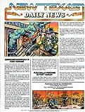 Bravestarr New Texas Daily News Journal - wird zu einem Poster - Figurenbeilage aus dem Jahr 1986 - Gefängnis-Ausbruch in Fort-Kerium