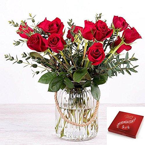 Flores Frescas Florachic - 12 Rosas...