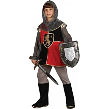 Boys Medieval Dragon Slayer Knight Fancy Dress Costume Kids Book Day Outfit