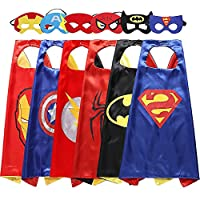 Easony Party Favor Toys 3-10 Year Old Boys, Cartoon Satin Capes Dress up Kids Birthday Presents Gifts for 3-10 Year Old Boys Toys Age 3-10 ESUKPF06
