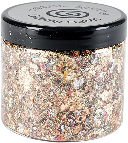Persian Home Decor (Cosmic Shimmer Gilding Flakes 200ml-Persian Dawn)