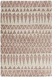 Mint Rugs Design Velours Teppich Hochflor Inspire, Polypropylen, rosa, 150 x 80 x 3.5 cm