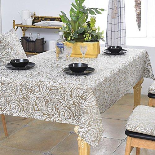 Tablecloth vbimlxft- Mantel Idílico Mediterráneo