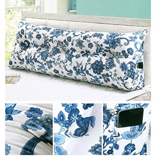 Marcus R Caveggf FigtingEagle120CM Baumwolle Leinwand Bett dreieckig großes Kissen Doppelte Paar Rücken Tatami Sofa Kissen Rückenlehne, 13 Diablo Wind Jacket