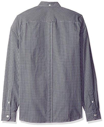FRED PERRY - - Homme - Chemise Vichy Logo Pocket Noir pour homme Noir