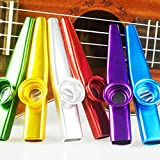 Best Kazoos - CCMART Set of 6 Colors Metal Kazoo Musical Review
