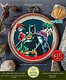Batman # K003kit de broderie   Comics Croix Motifs   Comment au point de croix   Anchor Kits de broderie point de croix pour     Croix Designs Printed Schemes Kit #1 - PRIME...