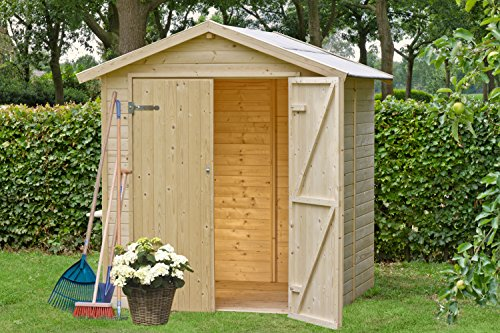 Casetas de madera viviendu for Casetas de madera para jardin baratas